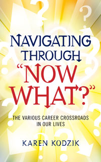 "Navigation through ""Now what?"" cover"
